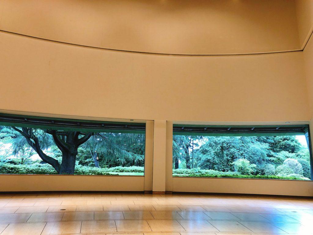 世田谷美術館 作品のない展示室