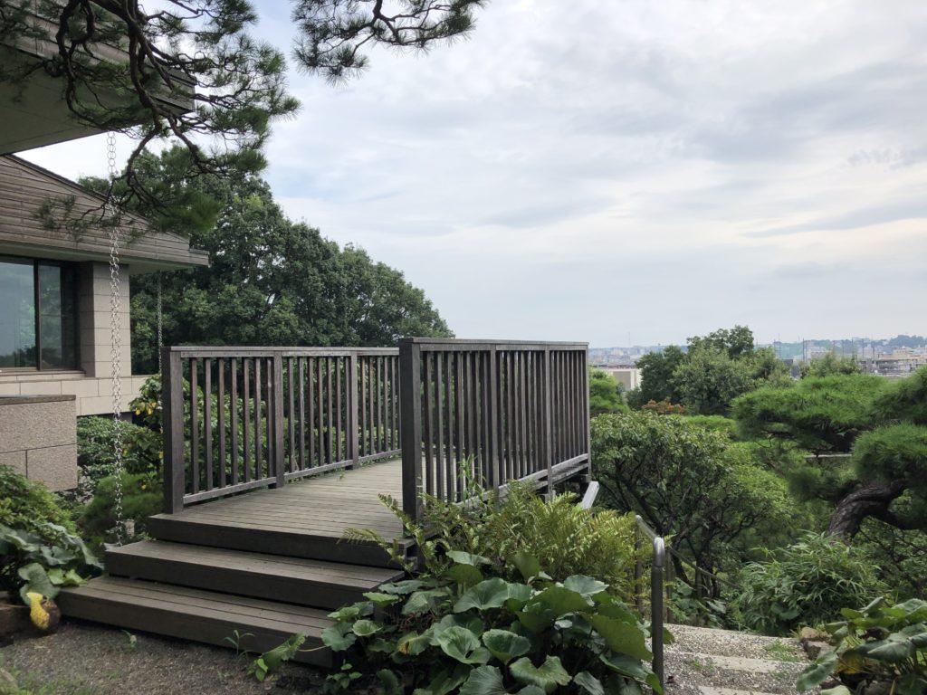 静嘉堂文庫美術館からの眺め