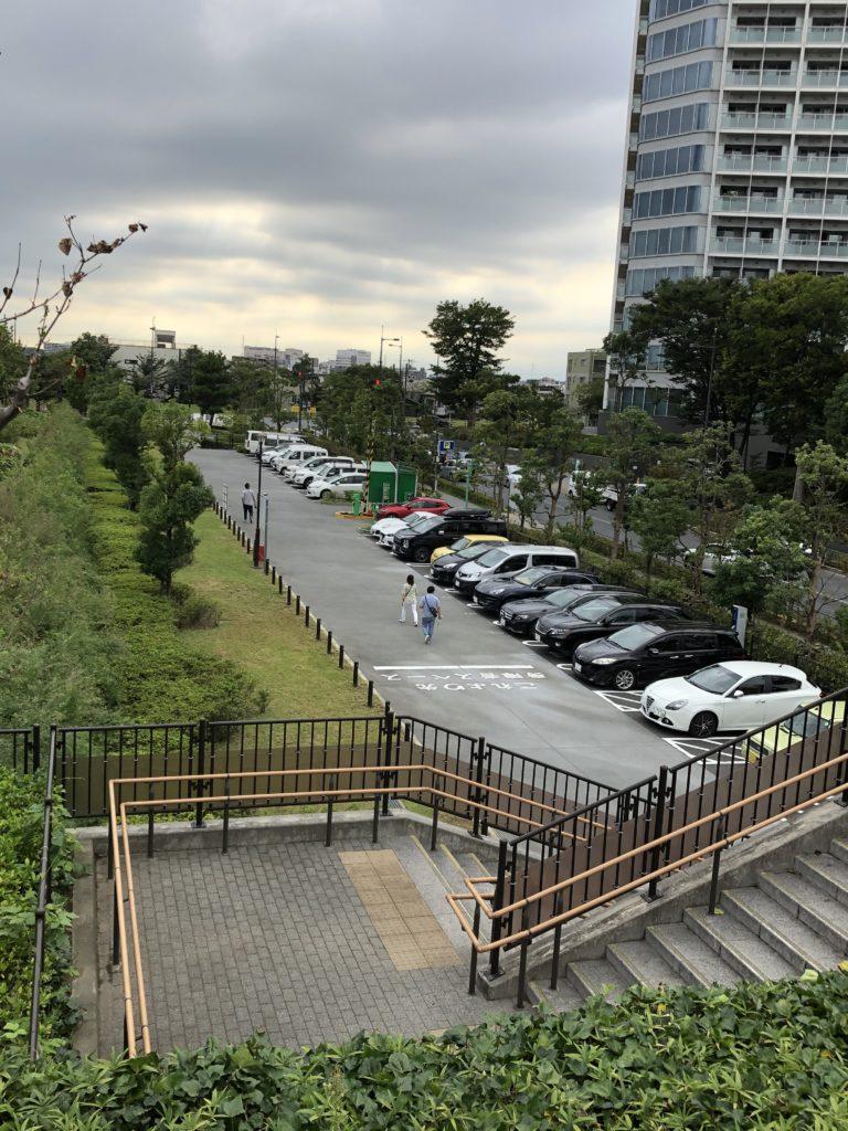 世田谷区立二子玉川公園駐車場