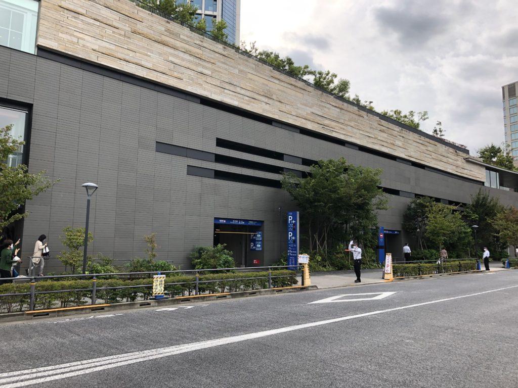 ライズショッピングセンター駐車場