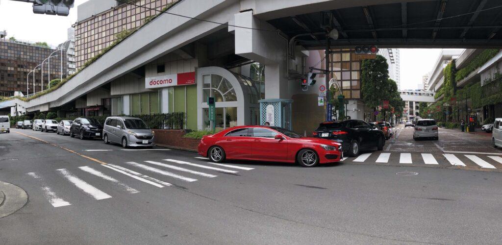 高島屋駐車場の混雑状況
